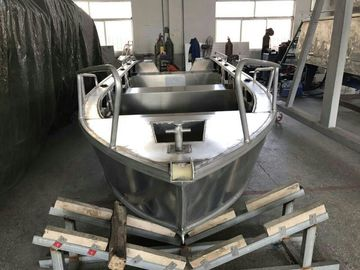 Professional Custom Aluminum Fishing Boats 5.2m With Cuddy Cabin